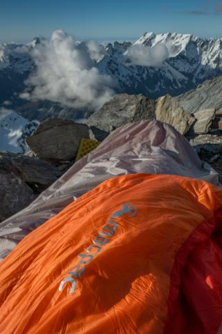 Bivvy with a view